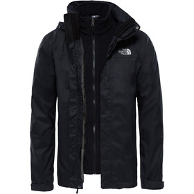 The North Face Evolve II Chaqueta Triclimate Hombre, tnf black
